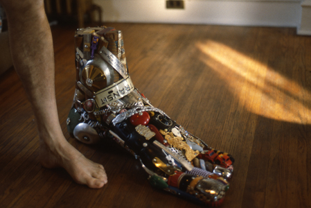 Leo Sewell Junk Sculptor Recycled Art Assemblages